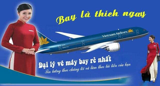 Phòng đặt vé máy bay vietnam airlines