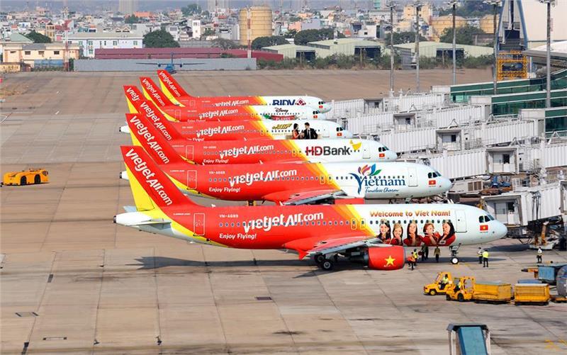 Kết quả hình ảnh cho Dàn máy bay mới của Vietjet