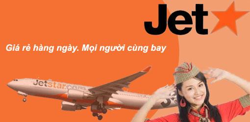 Kết quả hình ảnh cho vé may bay gia re Jetstar Pacific